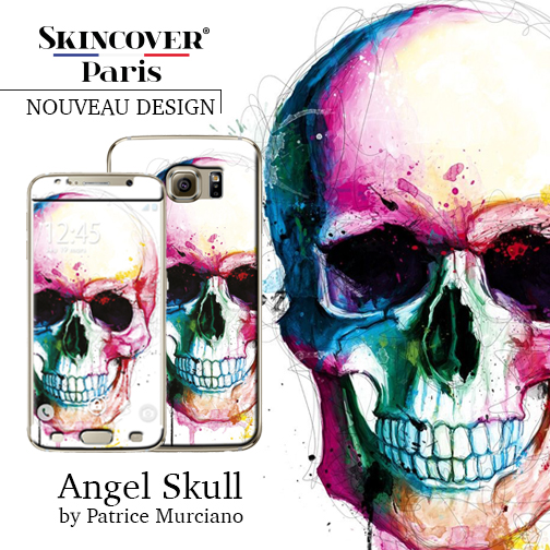 Angel Skull Skincover Patrice Murciano