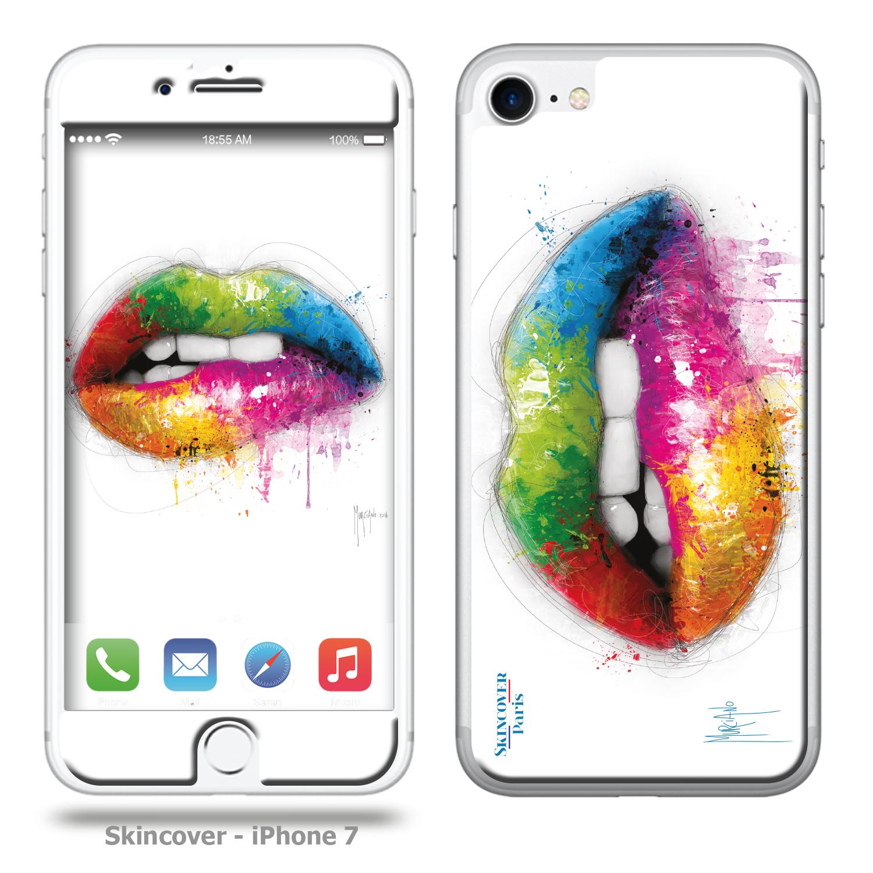 LipStick Skincover Iphone 7 Murciano Patrice Peintre