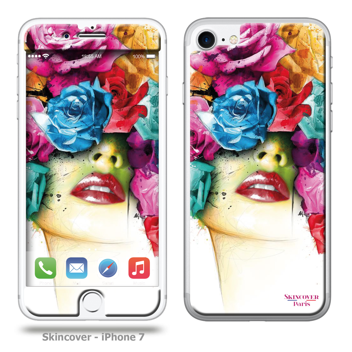 Skincover Rose Patrice Murciano  Iphone 7 Murciano